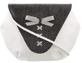 Stuart Weitzman Bow-Embellished Shoulder Bag