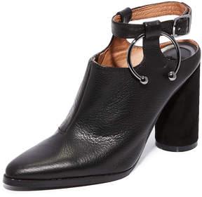 Jaggar Diverge Block Heel Booties