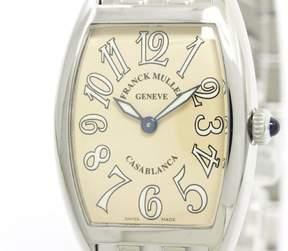 Franck Muller Frank Muller Casablanca 1752 QZ Stainless Steel Quartz 25mm Womens Watch