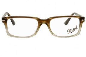 Persol Eyeglasses PO 3130V 1037 Striped Brown/Gr Transparent 54MM
