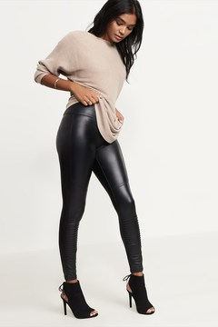 Dynamite Coated Moto Legging
