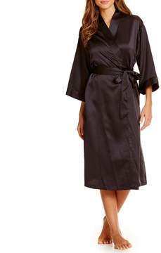 Cabernet Satin Robe
