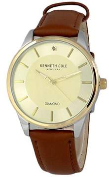 Kenneth Cole Leather Mens Watch KC50035003