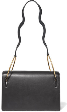 Roksanda - Dora Leather Shoulder Bag - Black
