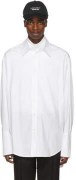 Yang Li White Big Shirt