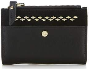 Kate Landry Stud Double Top Zip Wallet