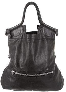 Foley + Corinna Distressed Leather Satchel