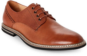English Laundry Cognac Buckhurst Plain Toe Derby Shoes