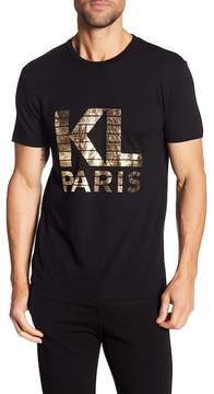 Karl Lagerfeld Short Sleeve Logo Tee