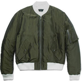 Haider Ackermann Padded Shell Bomber Jacket