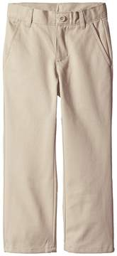 Nautica Slim Flat Front Twill Double Knee Pant Boy's Casual Pants
