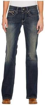 Ariat R.E.A.L. Bootcut Harlow Jeans in Iron Rose Women's Jeans