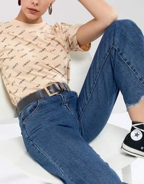 Asos Contrast Edge Jeans Belt