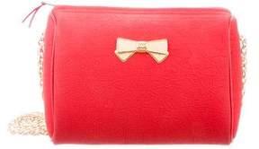 Nina Ricci Embossed PVC Crossbody Bag