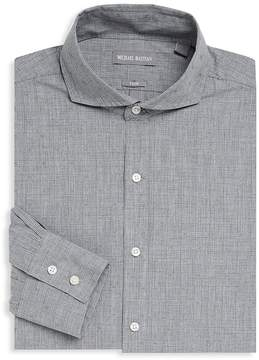 Michael Bastian Men's Textured Linen Dress Shirt