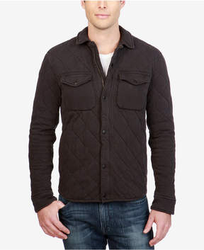 Lucky Brand Men's Quilted Western Shirt Jacket