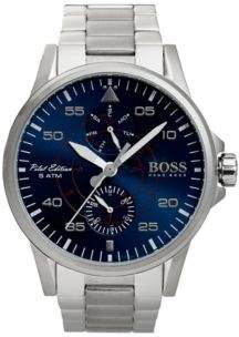 BOSS Hugo Aviator Casual Sport, Stainless Steel Watch 1513519 One Size Assorted-Pre-Pack