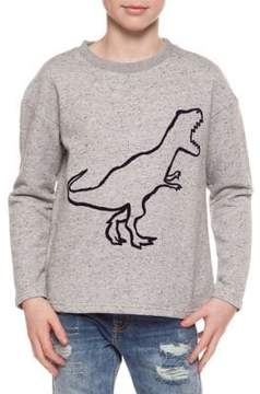 Dex Boy's Dino Long-Sleeve Sweatshirt