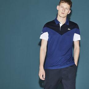 Lacoste Men's Sport Tennis Colorblock Tech Piqu Polo