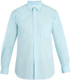 Comme des Garcons Patch-pocket cotton shirt