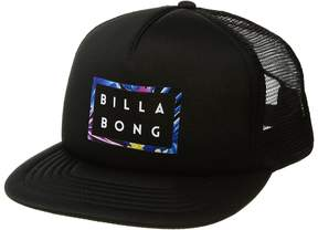 Billabong Die Cut Trucker Hat Baseball Caps