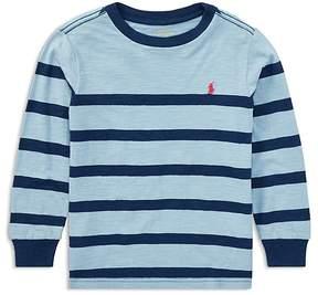 Ralph Lauren Boys' Striped Long-Sleeve Tee - Little Kid