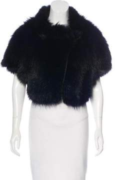 J. Mendel Fox Fur Cropped Jacket