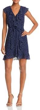 Bardot Polka Dot Faux-Wrap Dress - 100% Exclusive