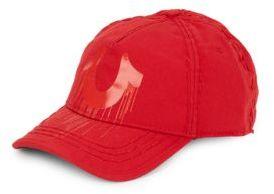True Religion Logo Detailed Cotton Hat