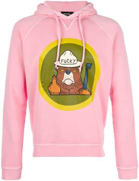 DSQUARED2 Bear print hoodie