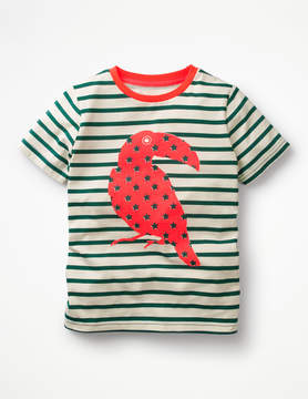 Boden Neon Pop Breton T-shirt