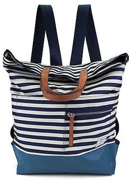 Nautica Mainlander Backpack - Indigo & Bone Stripe