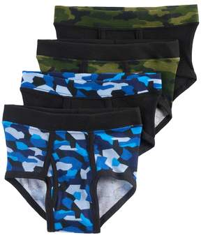 Hanes Boys 4-20 4-Pack Camouflage Briefs