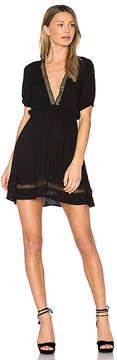 C&C California Abri Plunging Mini Dress