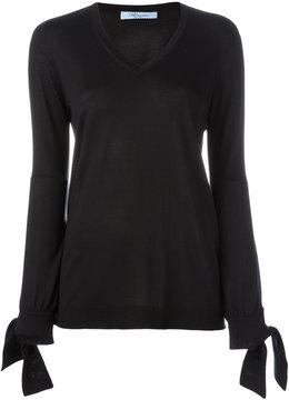 Blumarine V-neck jumper