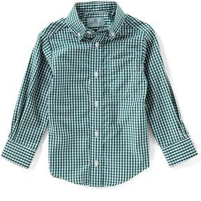 Class Club Little Boys 2T-7 Gingham Button-Down Long-Sleeve Shirt