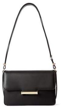 Jason Wu Diane Leather Small Flap Shoulder Bag, Black