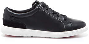 Foot Petals Black Andi Nappa Leather & Suede Sneaker - Women