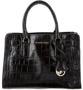 MICHAEL Michael Kors Dillon Satchel - ANIMAL PRINT - STYLE