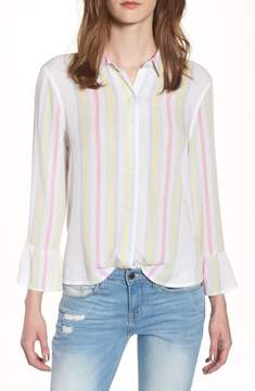BP Stripe Bell Sleeve Top