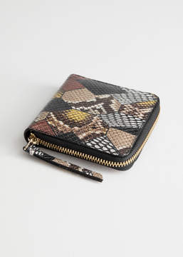And other stories Leather Zip Wallet