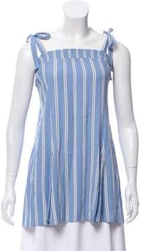 Privacy Please Striped Sleeveless Top w/ Tags