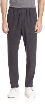 Ami Men's Heathered Carrot Fit Wool Blend Trousers