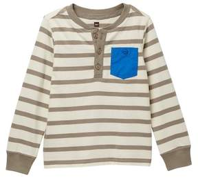 Tea Collection Fyne Henley Tee (Toddler, Little Boys, & Big Boys)