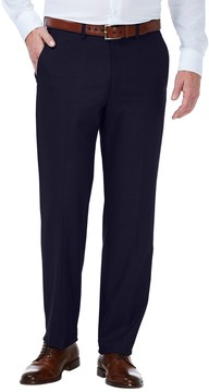 Haggar Men's J.M. Premium Slim-Fit Stretch Flat-Front Suit Pants