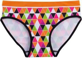 Maidenform Girls 6-16 Mosaic Triangle Seamless Hipster Panties