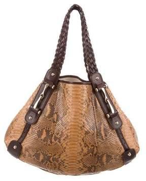 Gucci Python Medium Pelham Bag
