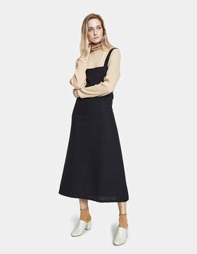 Base Range Duffy Overall Dress in Black