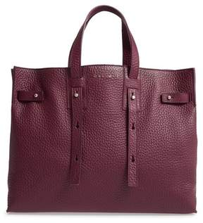 Orciani Petra Soft Calfskin Leather Tote - Purple