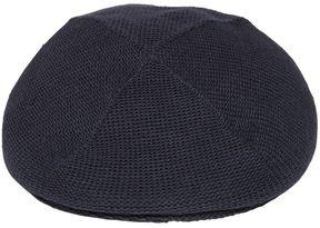 Armani Junior Cotton Knit Flat Cap